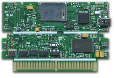 FAMINVITE Flash (SRAM) CARD FOR FAMICOM