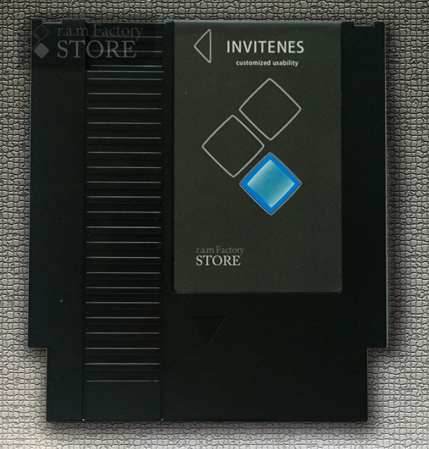 NTSC version, InviteNES Flash (SRAM) CARD FOR NES